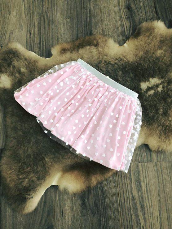 Petticoat roze hartjes