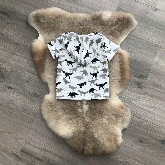 Dino hoodie achterkant