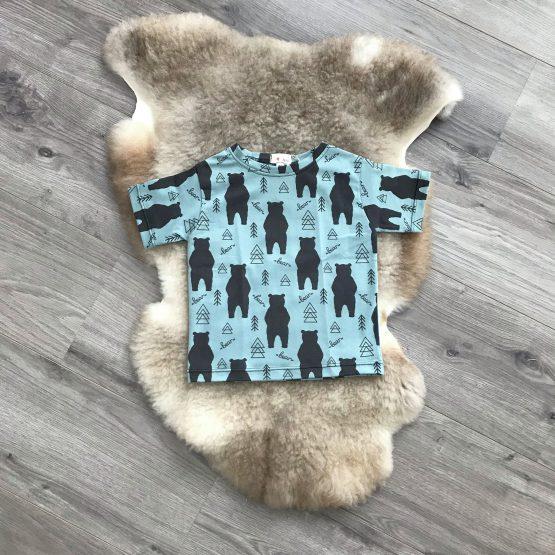 beren tshirt groot