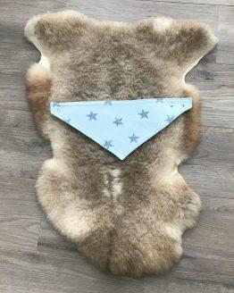 Slabber blauwe sterren