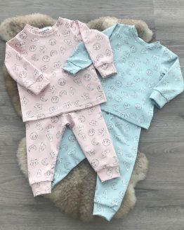 pyjama-maan-roze-blauw