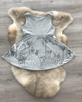 Jurk-grijs-dieren