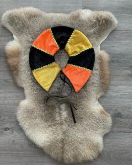 Pietenkraag-Oranje-Geel